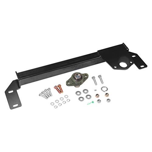 Steering Gear Box Stabilizer Kit - Fits 1994, 1995, 1996, 1997, 1998, 1999, 2000, 2001 Dodge Ram 1500, 94-02 Dodge Ram 2500, 3500 4WD - Steering Brace Bar - DSS Death Wobble Fix - Power Steering 4x4 ()