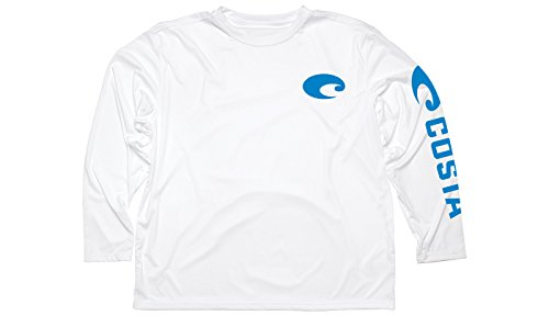 Costa Del Mar Technical Core Long-Sleeve Shirt White Size ()