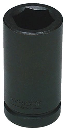 Wright Tool 14934 1-1/16-Inch-1/2-Inch Drive 6-Point Deep Impact Socket