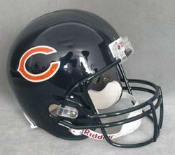 (Chicago Bears Riddell Replica Helmet)