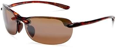Maui Jim Hanalei Polarized Sunglasses Tortoise / HCL Bronze One Size