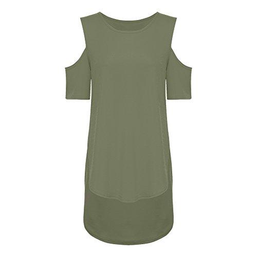 THE FASHIONISTA - Camiseta sin mangas - para mujer caqui