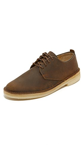 Clarks Men's Desert London Oxford,Beeswax Leather,11.5 M US