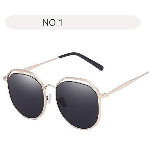 No 1 couleur Sunglasses Polarized Fashion De Taille Uv Eyewear Summer Soleil Vintage Protection Eye Femmes Women Wagyunfei 1 Lunettes Pour Size Uv400 Cat Free No qvxHwgET