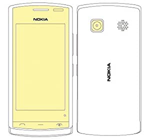 Martin Fields Overlay Plus Screen Protector (Nokia 500) - Includes Camera Lens Protector