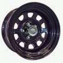Crawler Series 51 Black Wheels - Rock Crawler Series 51 Black Powder Wheel Size 16x8 Bolt Pattern 5x4.5 Back Space 4.25 in.