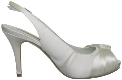 Menbur Wedding Kaila - Sandalias mujer marfil - Elfenbein (Ivory 04)