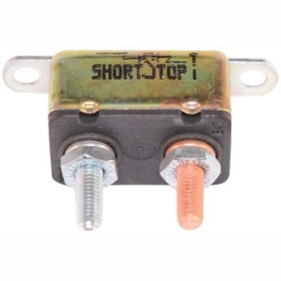Witonics Short Stop Circuit Breaker 30A Metal in Line Brket Type-1 12V (BP/CBC-30HB-RP)