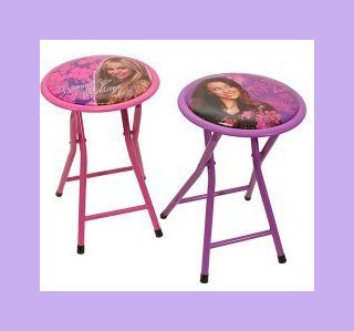 Disney Hannah Montana Best Friends Seating Stools Set