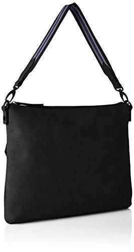s.Oliver (Bags) Hobo Bag - Bolsos de mano Mujer Negro (Black)