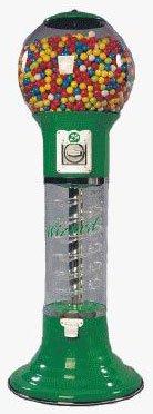 Wizard Spiral Gumball Machines 4ft 10in Wizard Green