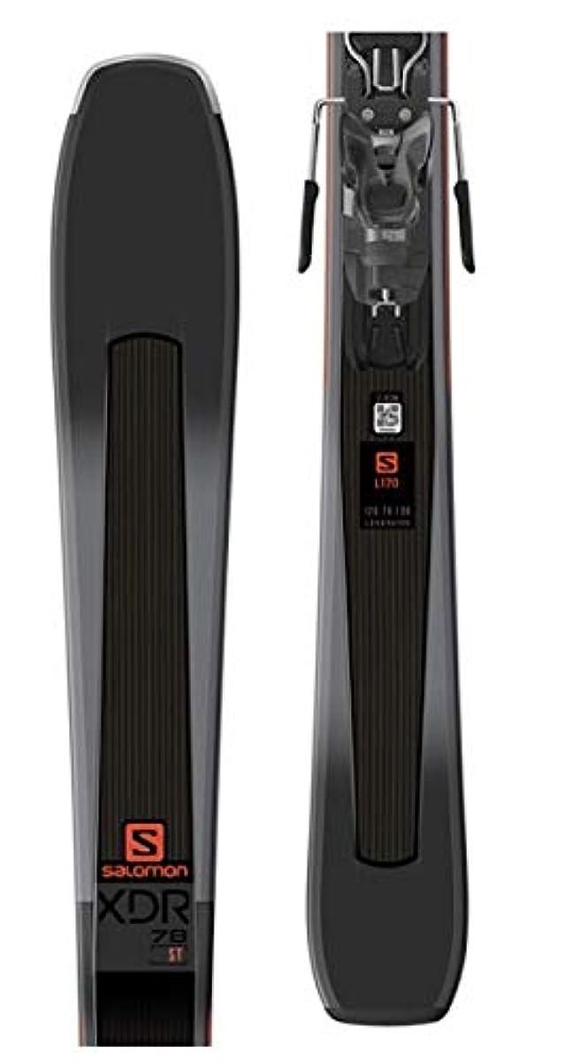[해외] SALOMON E XDR 78 ST 블랙/오렌지 160CM