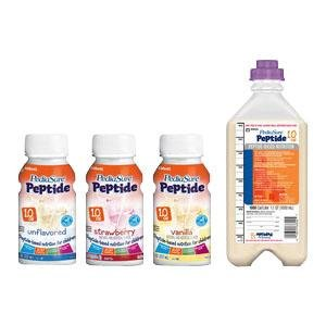 PediaSure Peptide 1.0, Strawberry, Rtf, Institutional - 24 ct.