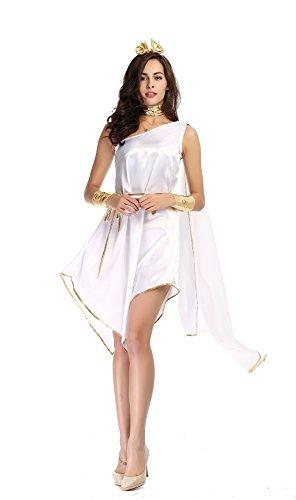 The Ancient Greek Goddess Halloween Costume (Greek God And Goddess Costume)