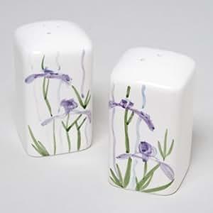 Shadow Iris Salt & Pepper Shakers 2x2x3-5 (1)