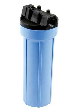 10'' Wide (std) Housing, Blue/Black, 1/2'' in/out by Pentek