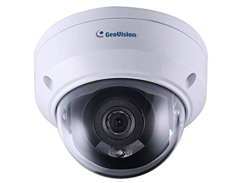 2MP, 2.8mm, IR Mini Fixed Rugged IP Dome, H.265