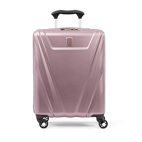 (Travelpro Maxlite 5 International Carry-on Spinner Hardside Luggage, Dusty Rose)