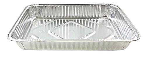 13 x 9-Inch Oblong Foil Pans (Pack of 25) - Disposable Aluminum Foil Cake Pan - Freezer & Oven Safe - For Baking, Cooking, Storage & Reheating – Bake Cakes, Casseroles, Quiche & Dishes