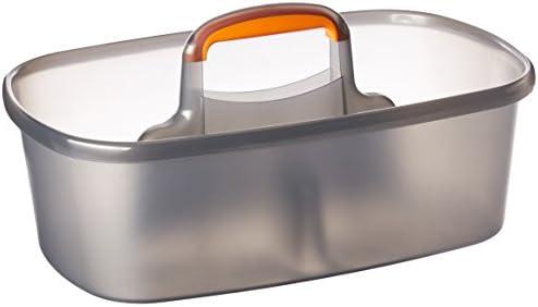 [해외]Casabella Rectangular Storage Caddy Graphite 4 gallons - 62441 / Casabella Rectangular Storage Caddy Graphite 4 gallons - 62441