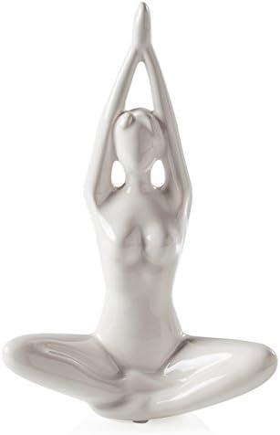Amazon.com: Torre & Tagus 902426b de yoga – Figura cerámica ...