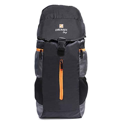 Chris  amp; Kate Black Travel Rucksack Backpack Trekking Backpacks Camping Daypack Bag  CKB_205KF