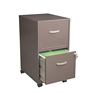 Space Solutions Letter-Sized Mobile File Cabinet (22040)