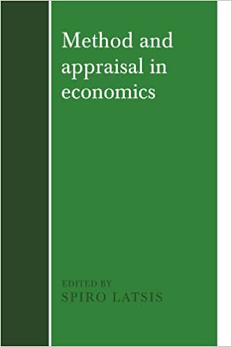Method and Appraisal in Economics