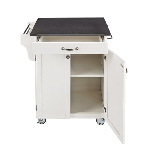 Home Styles 9001-0022 Create-a-Cart 9001 Series Cuisine Cart with Stainless Top, White, 32-1/2-Inch by Home Styles (Image #2)