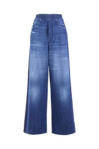 Golden Goose Femme G33WP018B7 Bleu Coton Jeans