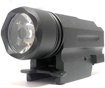 395 集光用レンズ搭載大光量 LED アルミ製 コンパクト ウェポンライト ハンドガンやライフルに取り付け可能(20mmレイル対応)