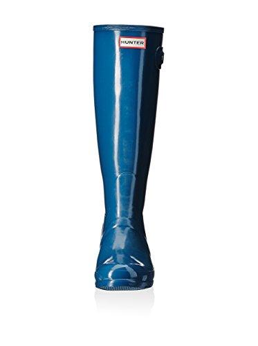 Hunter Botas de Agua Wmn Org Tall Gloss Azul EU 36 (UK 3)