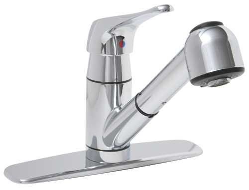 Premier 120185 Sanibel Single-Handle Shower Faucet, Chrome/Polished - Bathtub Handle Single Faucets Brass