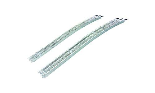Yutrax-TX105-Silver-89-Aluminum-Arch-Ramps-Pair-1500lb-Capacity