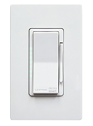 Leviton DW6HD-1BZ Decora Smart Wi-Fi 600W Universal LED/Incandescent Dimmer, No Hub Required, Works with Amazon Alexa (Wifi Wall Dimmer)