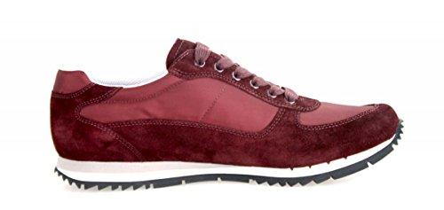 Sneaker In Pelle Prada Mens 4e2721 Oqt F0007
