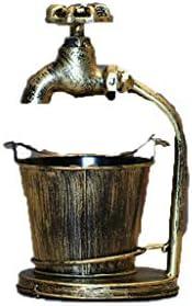 灰皿 , レトロ灰皿創造的な産業の風の棒の傾向多機能灰皿の装飾 (色 : C)