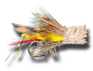 - Dave's Hopper Fly Fishing Fly - Size 14 - 6 Pack