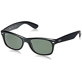 Ray-Ban RB2132 New Wayfarer Unisex Non-Polarized Sunglasses