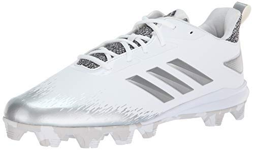 reputable site e70d6 2473d Adizero 5-star 7.0 j. adidas Men s Adizero Afterburner V Metal Baseball  Cleats (8.5, White Gold)