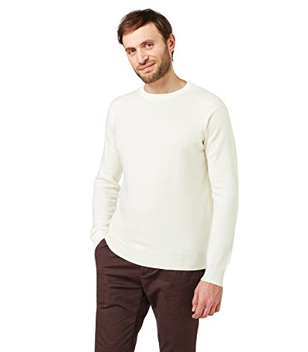 WoolOvers Mens Cashmere Cotton Sweater product image