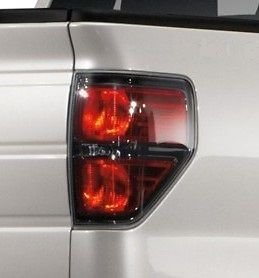 OEM Ford F-150 Black Tail Light Pair – SVT Raptor, Harley Davidson AL3Z13404AE