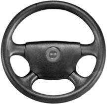 Detmar 122800AC Legend Steering Wheels - Hard Grip (Detmar Legend Steering Wheel)