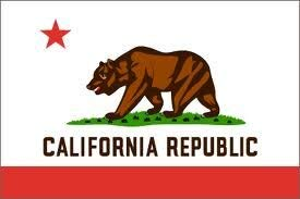CALIFORNIA 3'X5' NYLON OUTDOOR FLAG