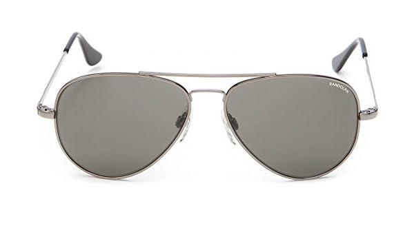 445bbd7ff1ab Amazon.com: Randolph Concorde Gun Metal Skull Temple Gray Non-Polarized  Sunglasses: Clothing