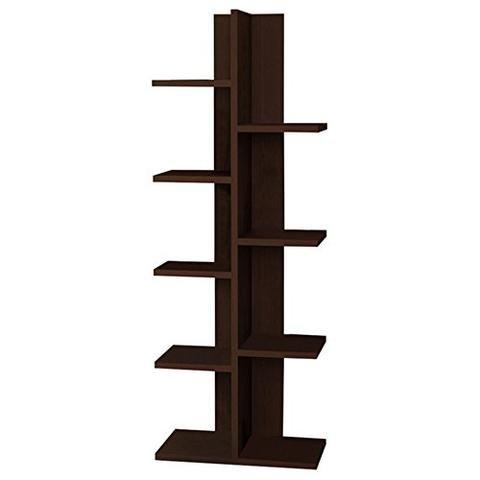 Bookcase 18' (ioneyes Berlin Modern Bookcase 18'' X 48'' X 9''/Shelving Unit/Bookshelf)