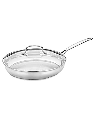 "Cuisinart ""Chef's Classic"" 12In Skillet With Lid"