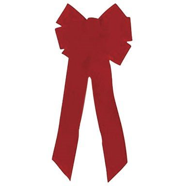 Holiday Trims Velvet Bow 10'' by Holiday Trim