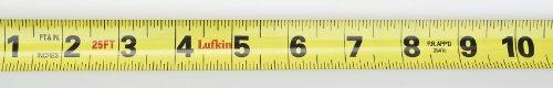 037103241108 - Lufkin L625 Lufkin 1-Inch by 25-Feet Hi-Viz Orange Power Return Tape carousel main 2