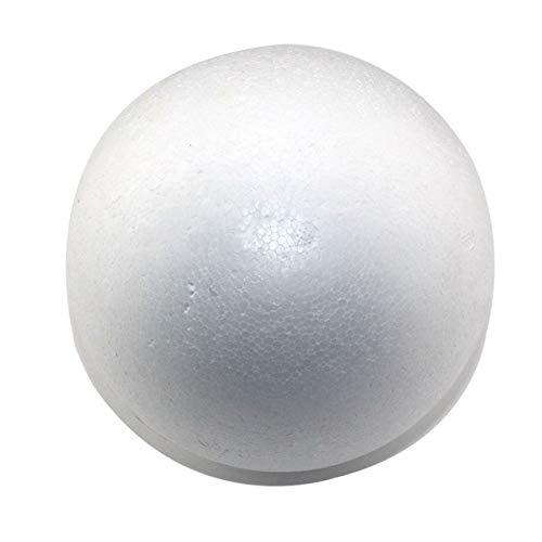 (BeesClover Wholesale 7cm Natural White styrofoam Round Balls Craft Ball Foam Ball Painted Ball(50pcs/lot) Show)